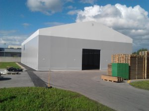 Pallets storage hall 20x30x6 Latvia, Riga